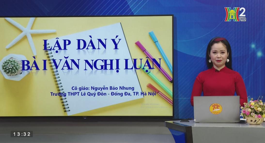 Tải sách: Tuần 27 : Lập Dàn Ý Bài Văn Nghị Luận – Tiếng Việt 10