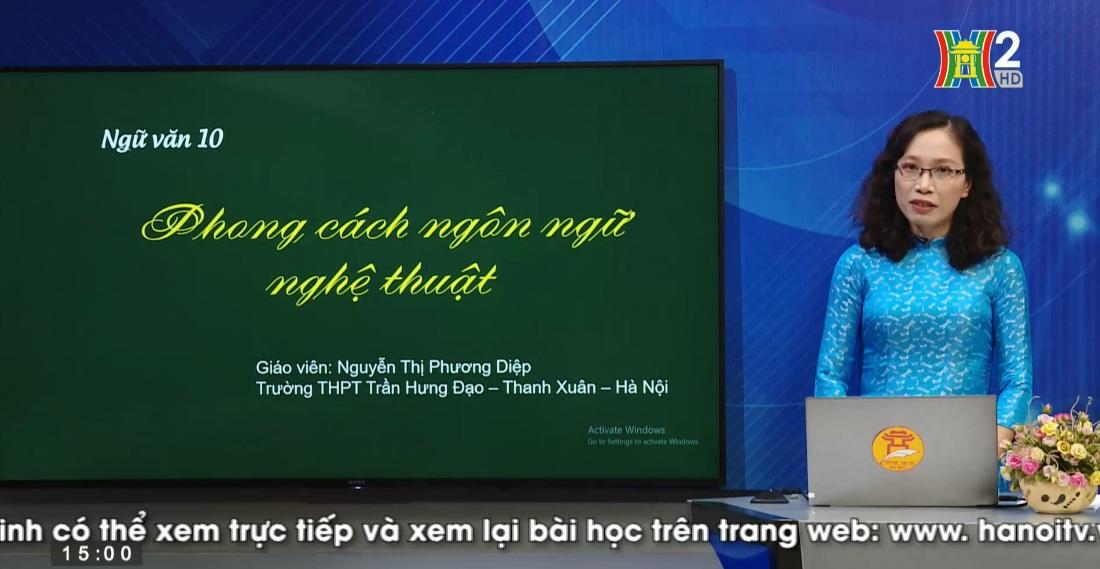 Tải sách: Tuần 28 : Phong Cách Ngôn Ngữ Nghệ Thuật – Tiếng Việt 10