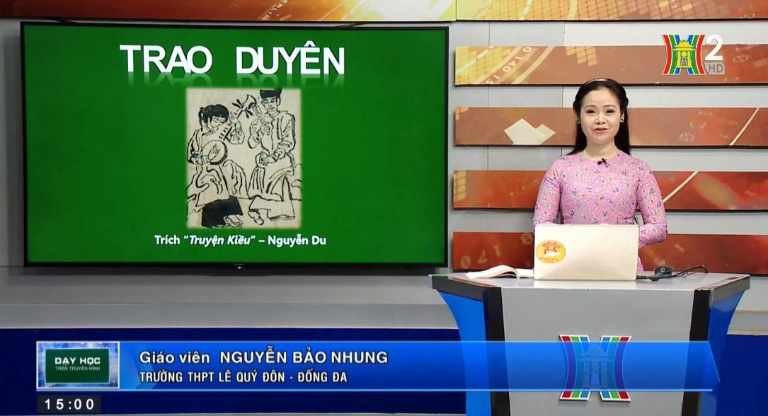 Tải sách: Tuần 29 : Truyện Kiều – Phần 2: Trao Duyên (Tiết 1) – Tiếng Việt 10