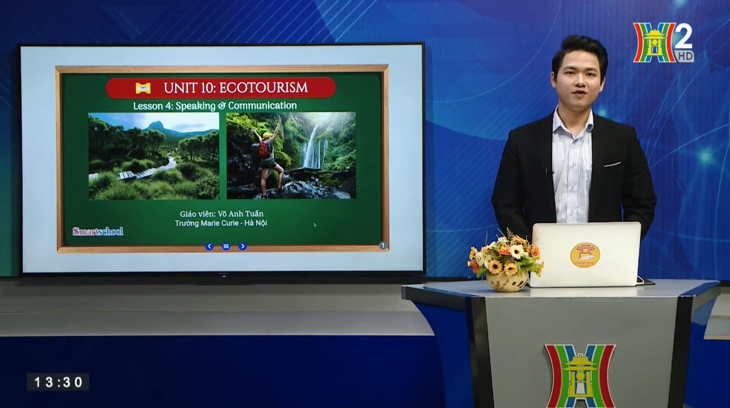 Tải sách: Unit 10: Ecotourism – Lesson 4: Speaking + Communication – Tiếng Anh 10