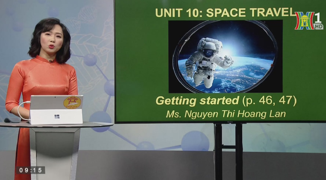 Tải sách: Unit 10 – SPACE TRAVEL (Getting Started) – Tiếng Anh 9