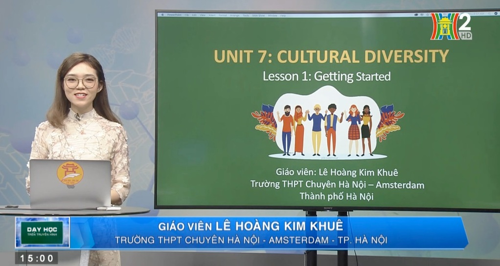 Tải sách: Unit 7: Cultural Diversity ( Lesson 1: Getting Stared) – Tiếng Anh 10