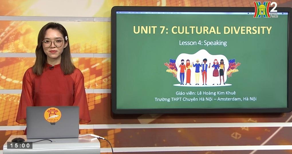 Tải sách: Unit 7: Cultural Diversity ( Lesson 4: Speaking ) – Tiếng Anh 10
