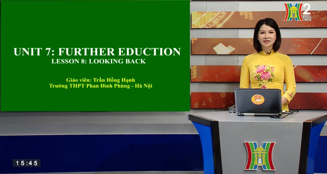 Tải sách: Unit 7: Further education – Lesson 8: Looking back – Tiếng Anh 11