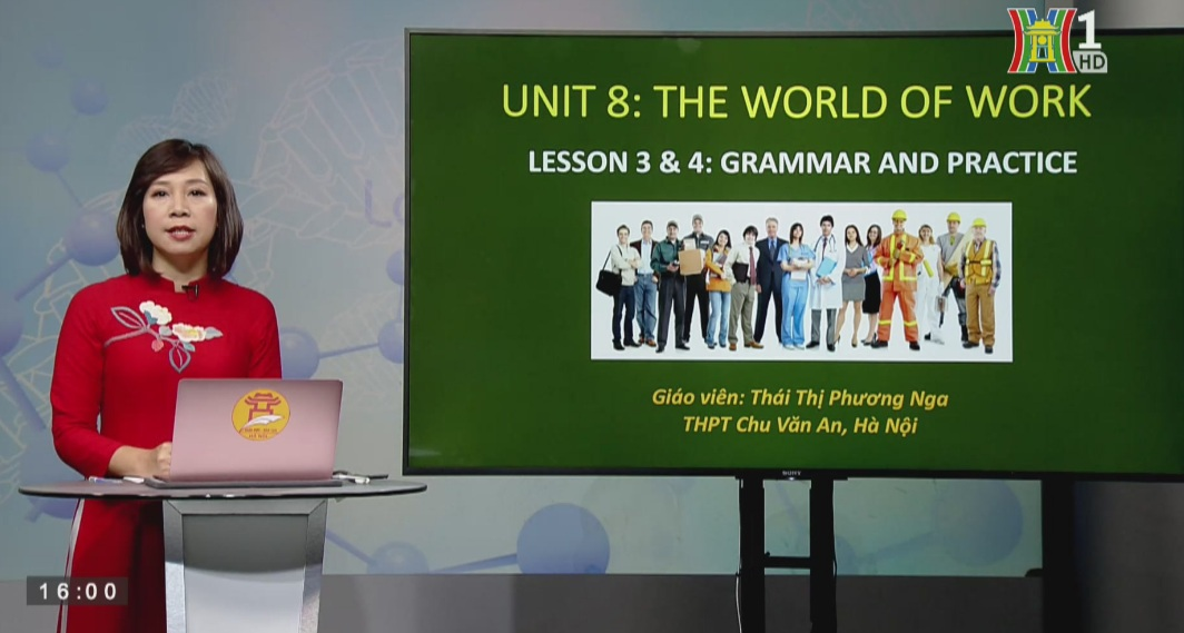 Tải sách: Unit 8 – Lesson 3&4 : The world of work – Tiếng Anh 12