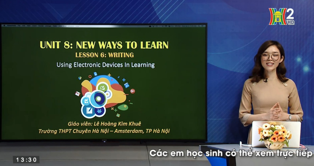 Tải sách: Unit 8: New Way to Learn ( Lesson 6: Writing + Communiction ) – Tiếng Anh 10