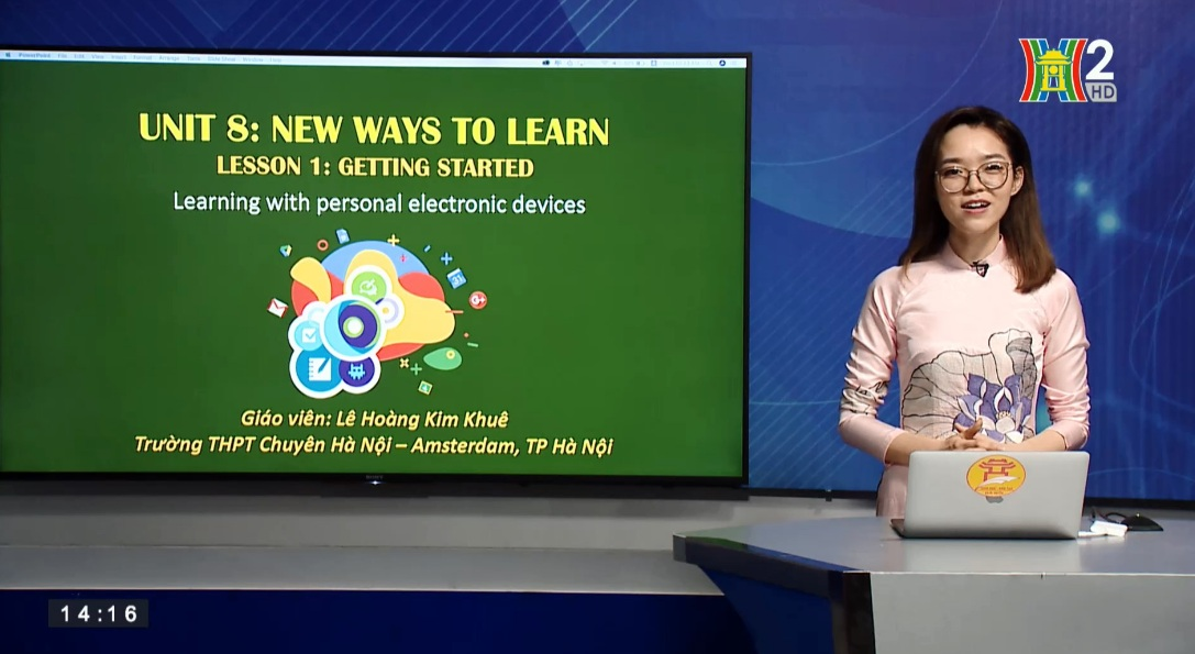 Tải sách: Unit 8: New Ways to Learn ( Lesson 1: Getting started ) – Tiếng Anh 10