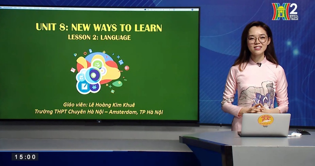Tải sách: Unit 8 : New ways to learn ( Lesson 2: Language ) – Tiếng Anh 10