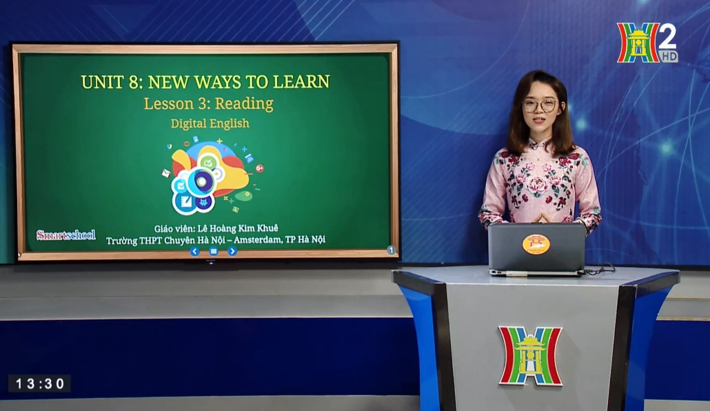 Tải sách: Unit 8 : New Ways To Learn ( Lesson 3: Reading ) – Tiếng Anh 10