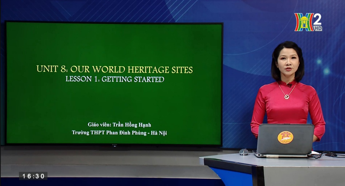Tải sách: Unit 8: Our world heritage sites – Lesson 1: Getting started – Tiếng Anh 11