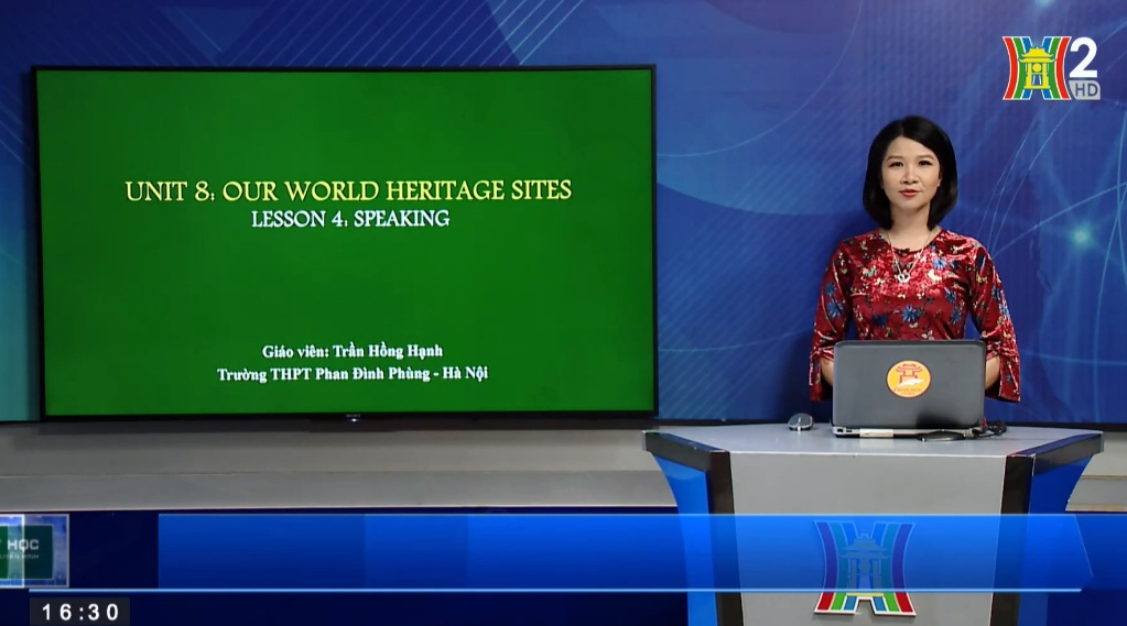 Tải sách: Unit 8 : Our world heritage sites – Lesson 4: Speaking – Tiếng Anh 11
