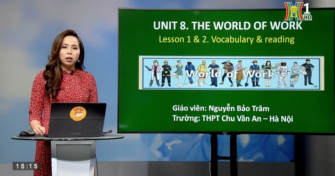 Tải sách: Unit 8 The World of Work – Lesson 1&2 : Vocabulary & Reading  – Tiếng Anh 12