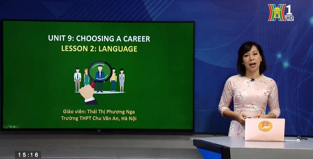 Tải sách: Unit 9 Choosing a Career -Lesson 2: Language – Tiếng Anh 12