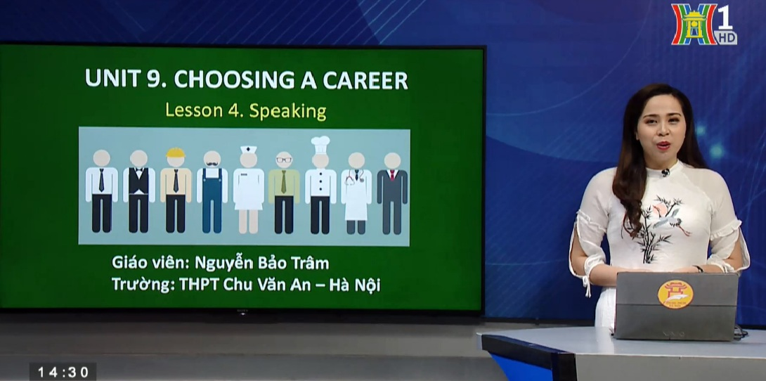 Tải sách: Unit 9 Choosing a Career -Lesson 4: Speaking – Tiếng Anh 12