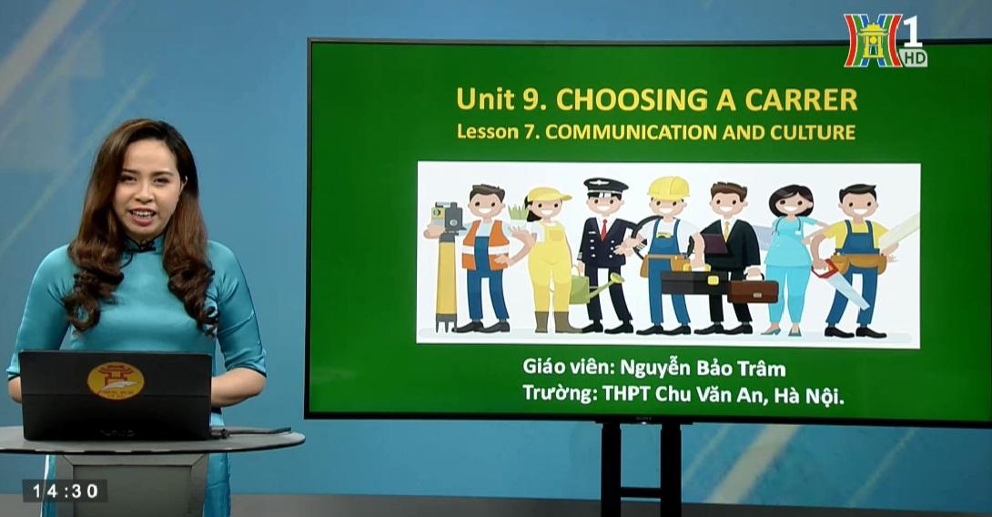 Tải sách: Unit 9 Choosing a Career – Lesson 7 Communication & Culture – Tiếng Anh 12