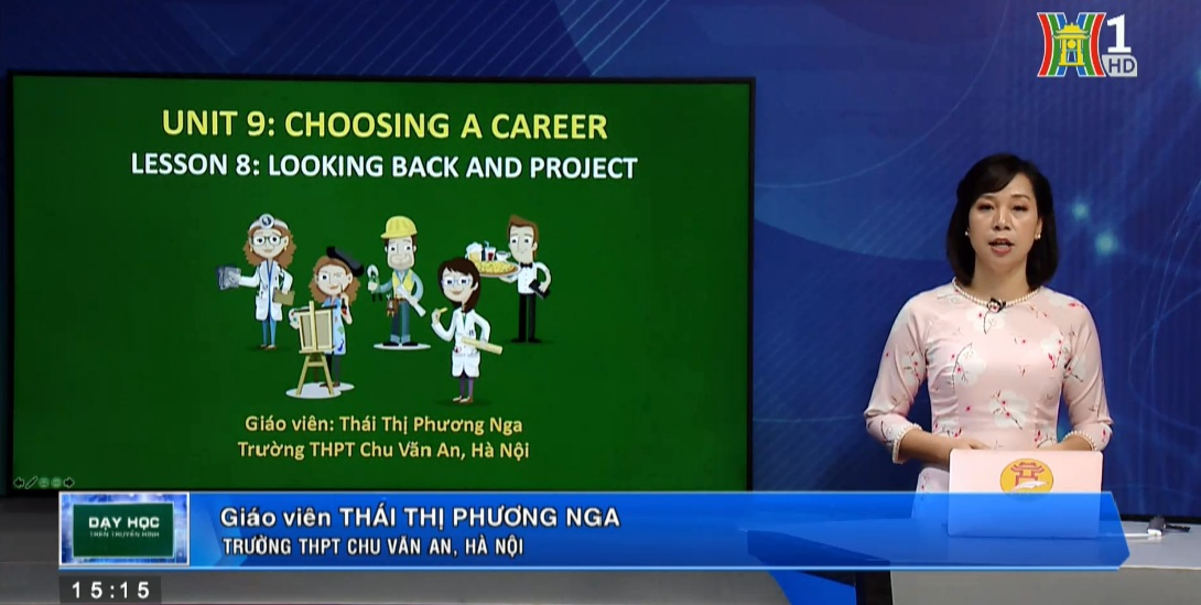 Tải sách: Unit 9 Choosing a Career – Lesson 8 Looking back & Project – Tiếng Anh 12