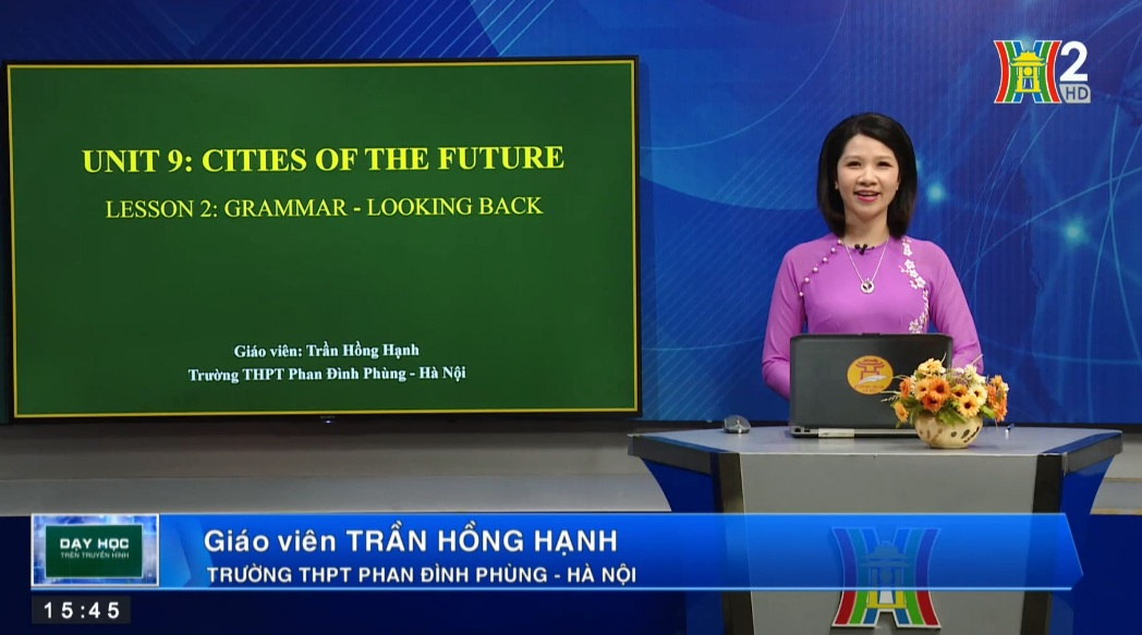 Tải sách: Unit 9: Cities of the future – Lesson 2: Grammar + Looking back – Tiếng Anh 11