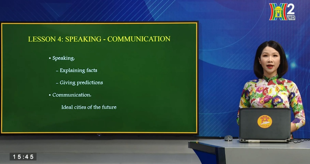 Tải sách: Unit 9: Cities of the future – Lesson 4: Speaking + Communication – Tiếng Anh 11
