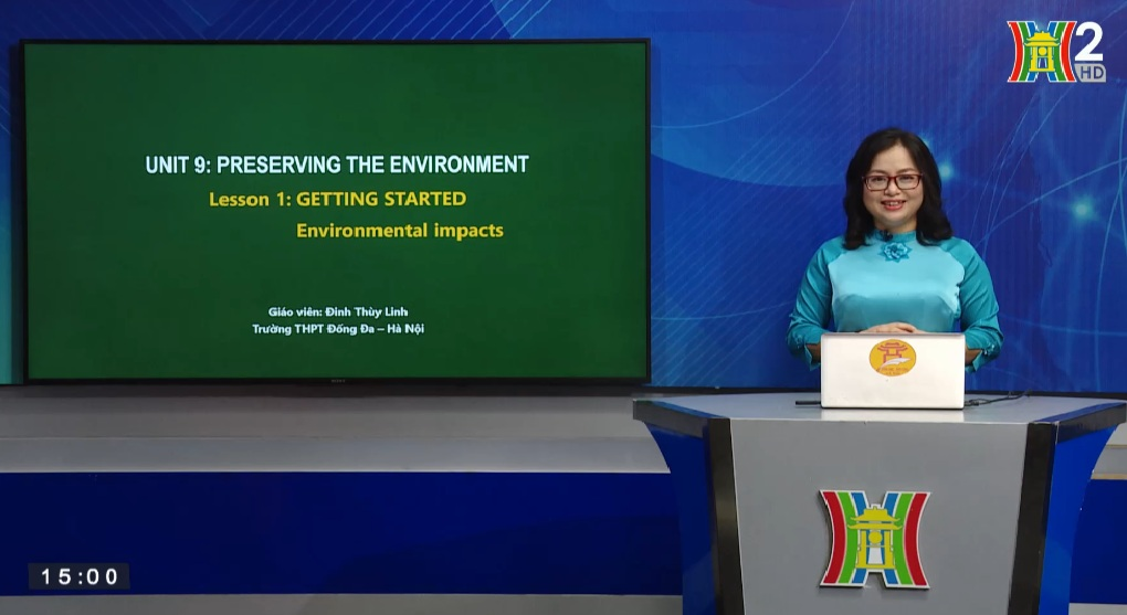 Tải sách: Unit 9: Preserving the environment ( Lesson 1: Getting started ) – Tiếng Anh 10