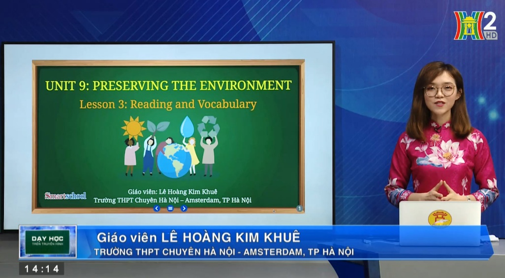 Tải sách: Unit 9: Preserving the environment ( Lesson 3: Reading + Vocabulary ) – Tiếng Anh 10