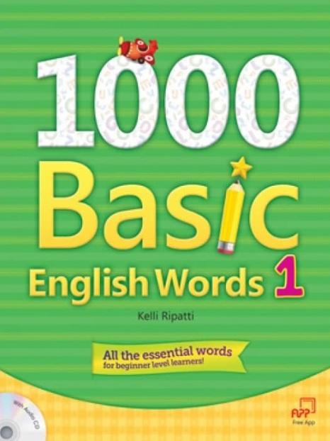 Tải sách: 1000 Basic English Words 1,2,3,4 Full Ebook+Audio (Bản Đẹp Nhất)