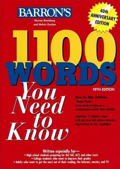 Tải sách: 1100 Words You Need To Know Full Ebook + Audio (Bản Đẹp Nhất)