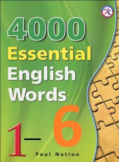 Tải sách: 4000 Essential English Words Tập 1-6 Full Ebook+Auddio (Bản Đẹp Nhất)