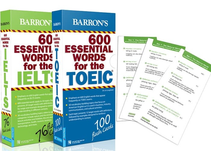 Tải sách: 600 Essential Words For The TOEIC – 3rd Edition Mới Nhất 2018 Full Ebook+ Audio (Bản Đầy Đủ Nhất)