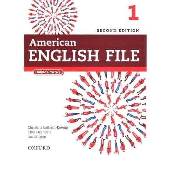 Tải sách: American English File Starter 1,2,3,4,5 Full Ebook + Audio (Bản Đầy Đủ Nhất)