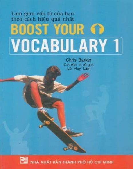 Tải sách: Boost Your Vocabulary 1,2,3,4 (Bản Đẹp Nhất)