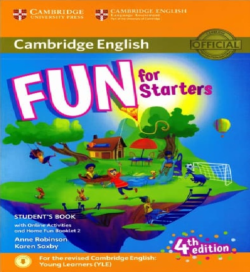 Tải sách: Cambridge English Fun For Starters – Movers – Flyers 4th Edition