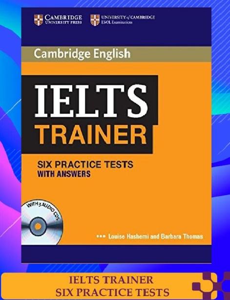 Tải sách: Cambridge IELTS Trainer With Answers Full Ebook+Audio (Bản Đẹp)