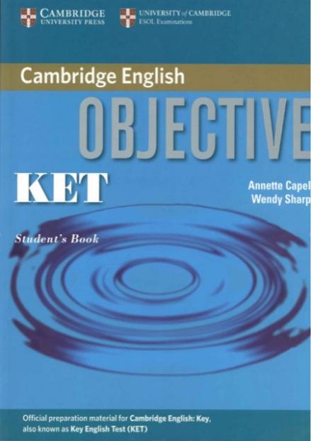 Tải sách: Cambridge Objective KET Full Ebook+Audio (Bản Đẹp Mới)