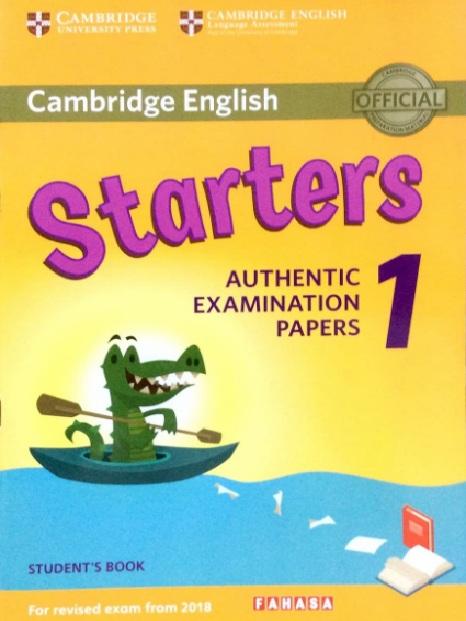 Tải sách: Cambridge Starters 1,2,3,4,5,6,7,8,9 Full Ebook+Audio+Answers (Bản Đẹp Nhất)