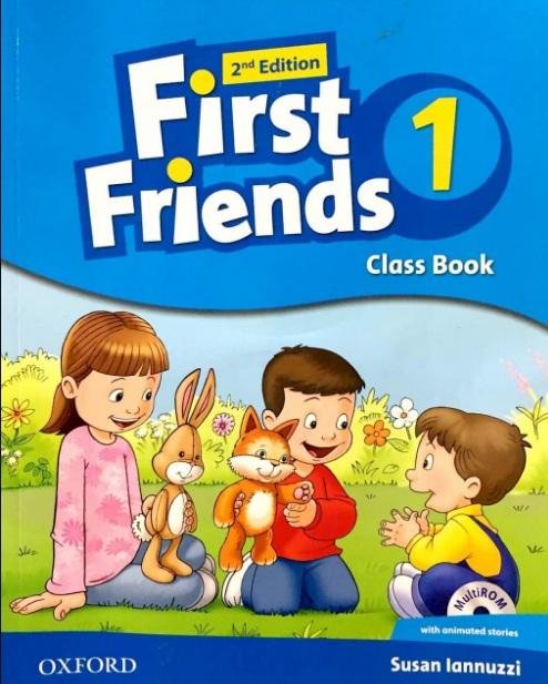 Tải sách: First Friends 1, 2 Full Ebook + Audio