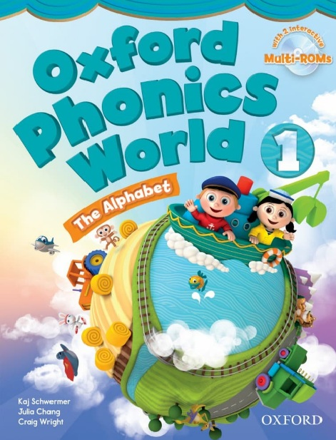 Tải sách: Oxford Phonics World 1,2,3,4,5 Full Ebook+Audio+Video (Bản Đẹp Nhất)