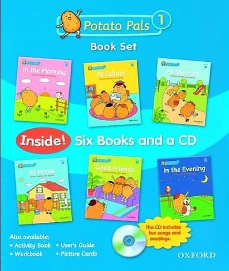 Tải sách: Potato Pals 1,2 Full Ebook + Audio (Bản Đẹp Nhất)