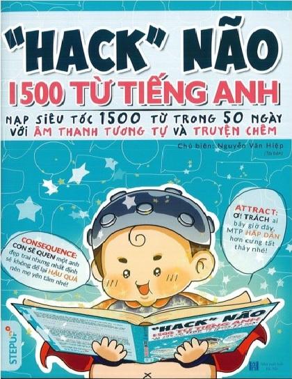 Tải sách: Review: Hack Não 1500 Từ Tiếng Anh Của Tác Giả Nguyễn Văn Hiệp (Bản Đẹp Nhất)